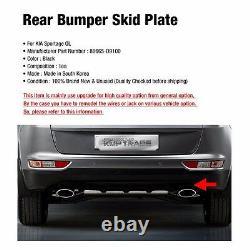 OEM Rear Bumper Duard Skid Black Plate Diffuser for KIA 2017-2020 Sportage QL