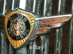 Original 1936-1937 Dodge Center Grille Parts and Emblem Car/Pickup Truck Trim