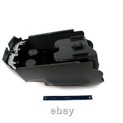 Polaris Center Console Assembly, Gloss Black, Genuine OEM Part 2634880-070