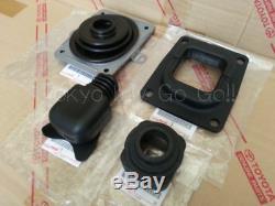 Supra JZA80 V160 Shift Lever Dust Boots Insulators set NEW Genuine OEM Parts