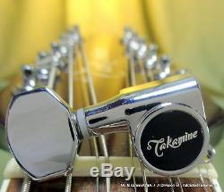 Takamine Pro Series Tuner 12 STRING SET / CHROME / Genuine OEM Part TPK0543