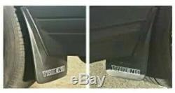 Toyota Ae86 Trueno Kouki Mud Flaps OEM JDM 100%Genuine Parts! (for Rear Bumper)