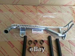 Toyota Corolla cp AE86 Water By-Pass Pipe Hose Clamp set NEW Genuine OEM Parts