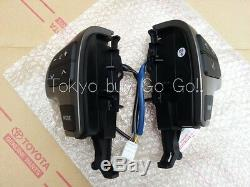 Toyota Land Cruiser 200 Steering Wheel Switch Controls Genuine OEM Part 2008-11