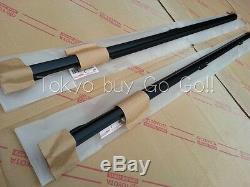 Toyota MR2 SW20 Outer Door Molding Weather Strip LH +RH set NEW Genuine OEM Part