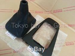 Toyota MR2 SW2# Console Upper Panel Shift Cover set NEW Genuine OEM Parts