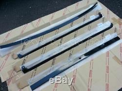 Toyota Supra70 Back Window Outside Moulding set NEW Genuine OEM Parts