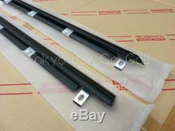 Toyota Supra JZA80 Door Outside Belt Moulding RH + LH Set NEW Genuine OEM Parts