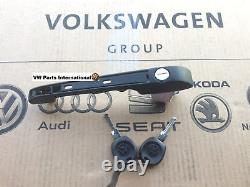 VW Golf MK2 Drivers Door Handle with lock and keys OS Right Genuine OEM VW Part