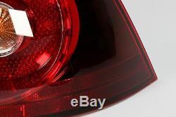 VW Golf MK5 R32 04-09 Dark Red Rear Outer Lights Lamps Set Pair Left Right OEM