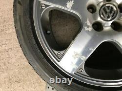 Vw Mk4 Golf 17 Santa Monica Alloy Wheel & Tyre 1j0601025j Genuine Oem Part #1