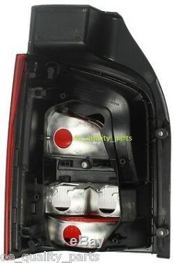 Vw T5 Caravelle Multivan V Tail Rear Left + Right Lights Light Lamp Lamps Smoked