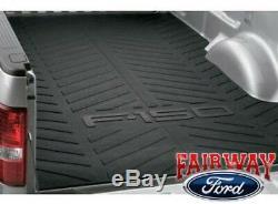 04 Thru 14 F-150 Oem D'origine Ford Pièces Heavy Duty Caoutchouc Bed Mat 8' Pieds De Long