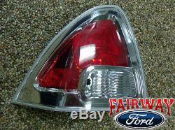 06 07 08 09 Fusion Oem D'origine Ford Pièces Gauche Pilote Queue Lampe Clairs