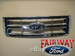 08-12 Évasion Oem D'origine Ford Parts Chrome Grill Grille Sans Emblème Nouveau