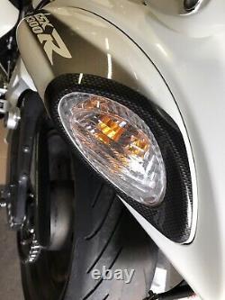 08-20 Suzuki Hayabusa Carbon Fiber Tail Éclairage De Couverture Ensemble New Genuine Oem Part