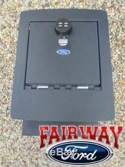 09-14 F-150 Oem D'origine Ford Parts Console Combinaison De Sécurité Vault Safe