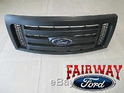 09-14 F-150 Oem D'origine Ford Parts XL Black Model Grille Grill Withemblem Nouveau
