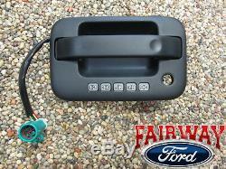 09-14 F-150 Oem D'origine Ford Pièces Gauche Poignée De Porte Extérieure Noire Avec Clavier