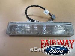 10 À 14 F-150 Oem D'origine Ford Pièces Svt Raptor Led 3ème Lampe De Frein Clairs