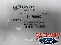 11-14 F-150 Oem D'origine Ford D'intégrer De Démarrage À Distance Clé 164-r8067