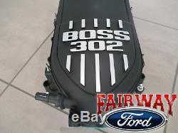 12 À Travers 14 Mustang Collecteur D'admission Pièces D'origine Ford Oem 5.0l Boss 302 Nouveau