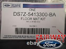 13 À Travers 16 Fusion Oem Genuine Ford Parts Carpeted Ebony Black Floor Mat Set 4-pc
