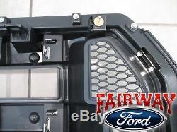 15 À 17 F-150 Oem D'origine Ford Parts Chrome Et Mesh Grille Grill Witho Caméra