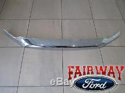 15 À 20 F150 F150 Oem D'origine Ford Pièces Déflecteur De Capot Punaise Chrome