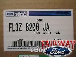 15 Thru 17 F-150 Oem Pièces D'origine Ford Moulé Grille Magnétique Grill Witho Caméra