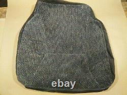 1998-2001 Dodge Ram Driver Bucket Seat Rembourrage De La Peau Envelopper Tissu Tweed Oe