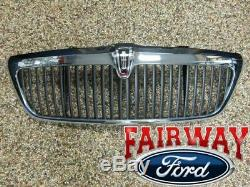 2003 & 2004 Lincoln Aviator Oem D'origine Ford Parts Chrome Grill Grille Withemblem