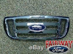 2006-2011 Chrome Ranger Oem D'origine Ford Parts Grille Avant Grill Nouveau