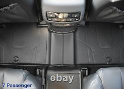 2020-2021 Hyundai Palisade All-weather Floor Matsgenuine Oem Parts S8f13-au100