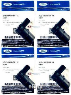 (4) Oem Ford Arrière Stationnement Backupassist Capteur Arrière Ford 01-2014 3f2z15k859ba