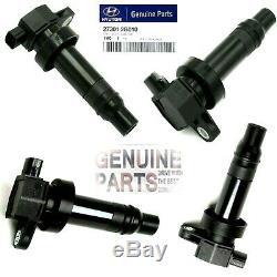 4 Pack Oem Hyundai Kia 273012b010 Bobine Moteur Pour Bougie Authentique
