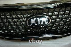 Ajustement Pour 11 12 13 14 Kia Nouveau Sportage Chrome Radiator Grill Pièces Authentiques Oem