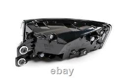 Audi A5 16-19 Genuine Black Led Dynamic Indicator Rear Lights Lamps Set Paire