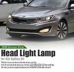 Avant Véritable Pièces Oem Head Light Lamp Assy Lh Rh Pour Kia Optima 2011 2013 K5
