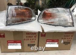 Bnib Oem Véritable Honda Part CIVIC Eg Ej 2 Porte / 3 Portes 92-95 Turn Signal 1 Paire