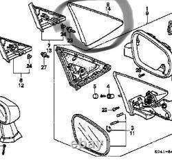 CIVIC Mirror Supprimer Ek Hatchback Côté Droit Jdm Oem Honda Genuine Part Nos 96-00
