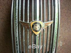 Centre D'origine Dodge 1936-1937 Grille Pièces Et Emblème De Voiture / Pick-up Truck Garniture