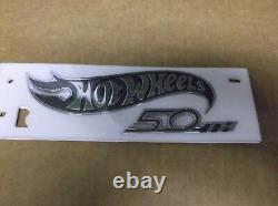 Chevy Camaro Hot Wheels 50e Anniversaire Rh Fender Emblemgenuine Ogm18