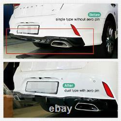 Diffuseur De Pare-chocs Arrière À Double Type Oem Pour Hyundai 2017 2018 Sonata New Rise Turbo