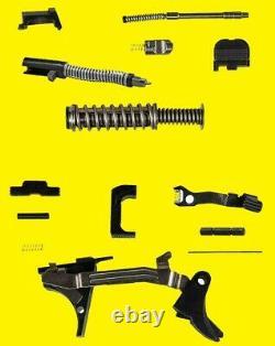 Glock Oem Pièces Supérieures Et Inférieures Kit Pour Glock 43 Pièces Authentiques 9 Millimètres