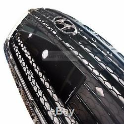 Grille De Radiateur Avant De Capot Oem Couverture Moulure 1ea Pour Hyundai I40 2015-2018