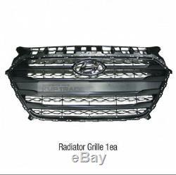 Grille De Radiateur Capot Avant Oem Couvercle Garniture Pour Hyundai Elantra Gt 2013-16 / I30
