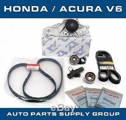 Honda / Acura V6 Oem Courroie De Distribution Et Pompe À Eau Kit Usine De Pièces D'origine / Aisin / Koyo
