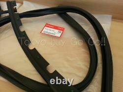 Honda CIVIC Eg4 Eg6 1992-95 Front Door Sub Seal Rh & Lh Set New Genuine Oem Part