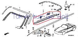 Honda S2000 Moulage De La Fenêtre De Porte Rh & Lh Set Nouveaux Oem Pièces Authentiques 2000-09